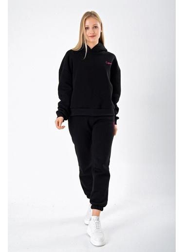 Goja Sport Sweatshirt Siyah